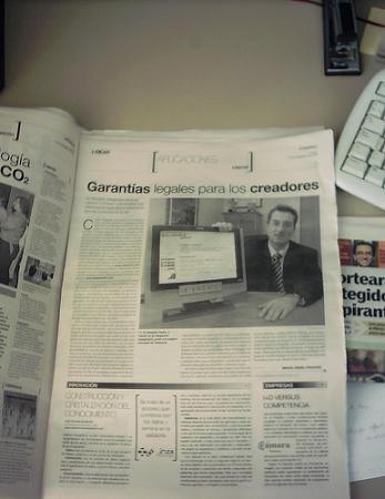 ColorIURIS en el Periódico de Aragón
