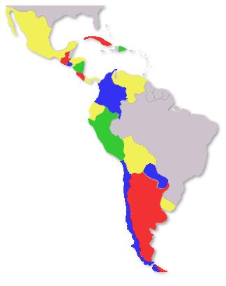 Completos los ColorIURIS para los países hispanoparlantes
